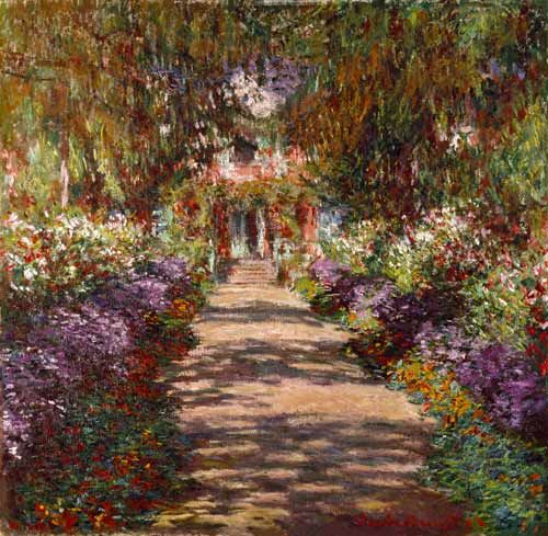 Monet Avenue in Giverny